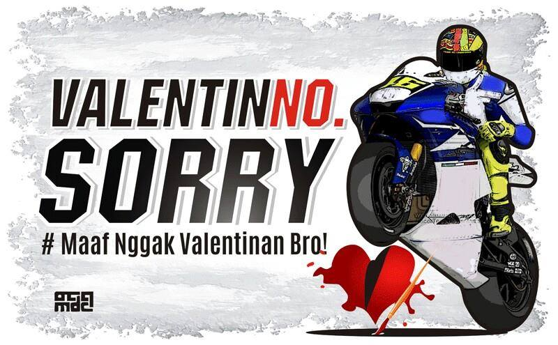 Valentino Sorry - Say No to Valentine