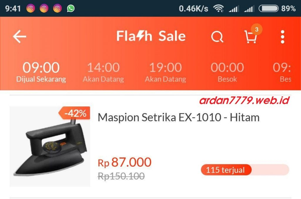 Flash Sale Hanya Sebatas Strategi Marketing Pembodohan Publik