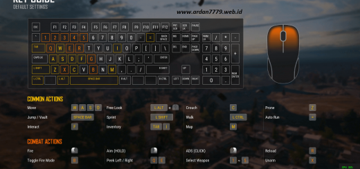 Key Guard Panduan Keyboard PUBG Lite Full HD